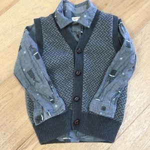BabyGap Toddler Boys Vest 👔 LIKE NEW